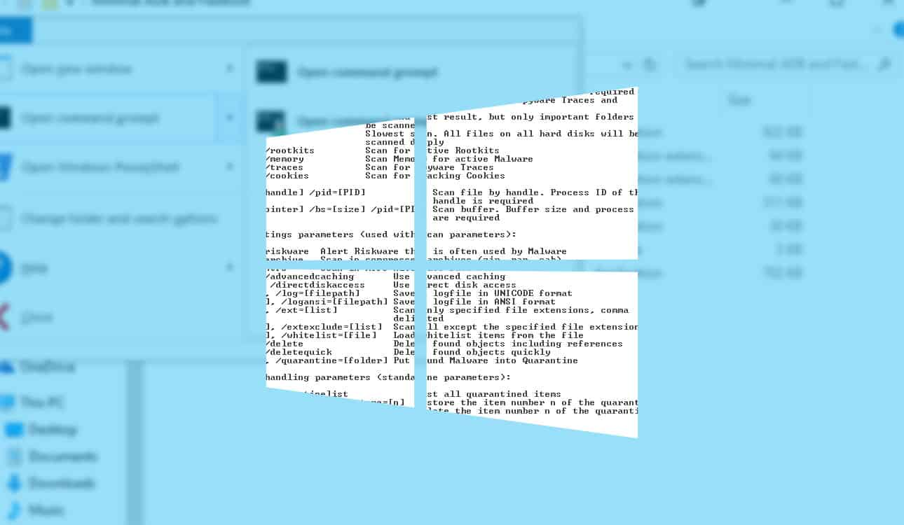 How to open Command Prompt in a specific Windows 10 file directory »  OnMSFT.com