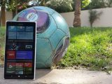 Lumia 1520 and football