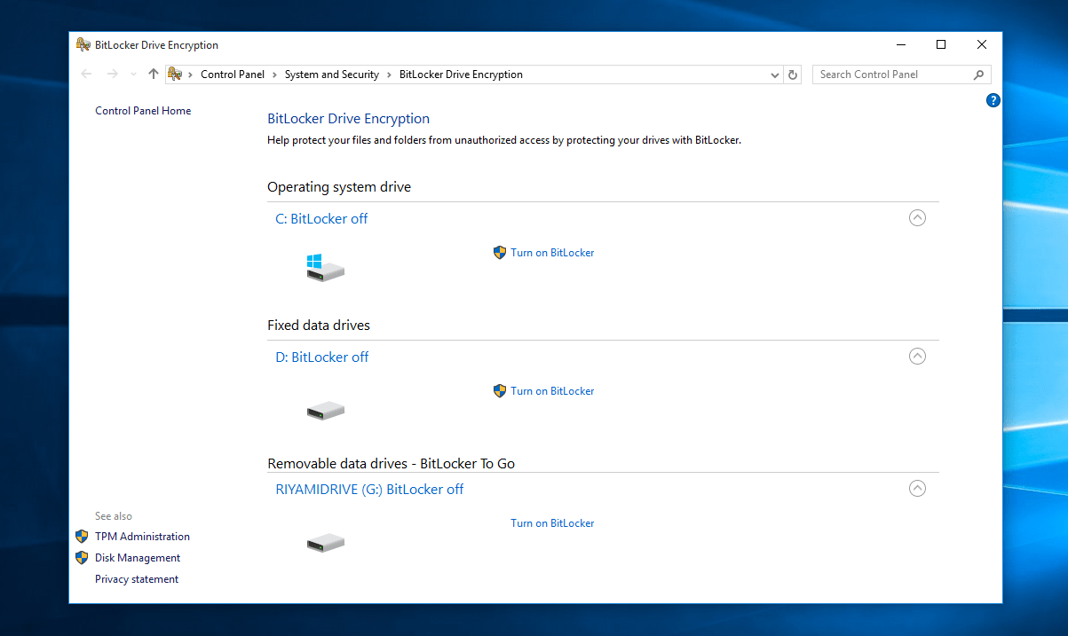 Getting started with BitLocker, Windows 10's built-in full disk encryption tool OnMSFT.com August 20, 2019