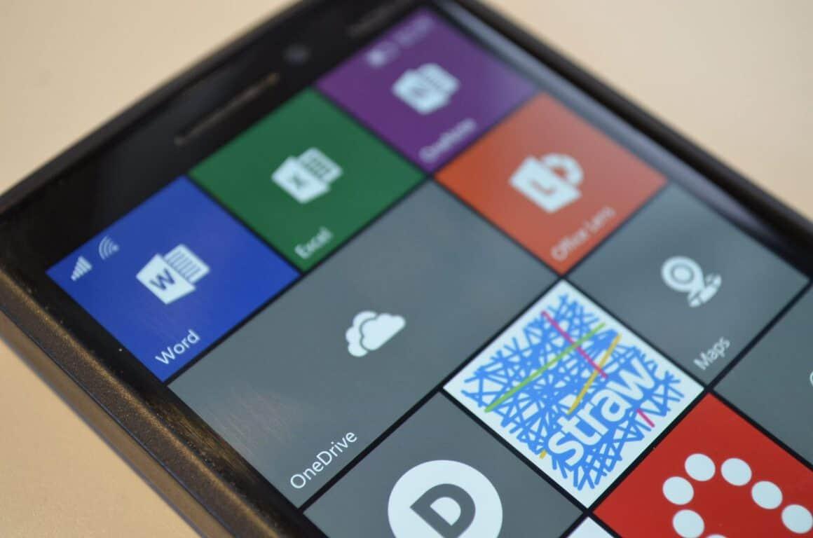 OneDrive Windows 10 Mobile