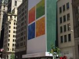 Upcoming microsoft store in new york gets a fresh look before launch - onmsft. Com - september 18, 2015