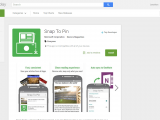 Snap to pin on google play