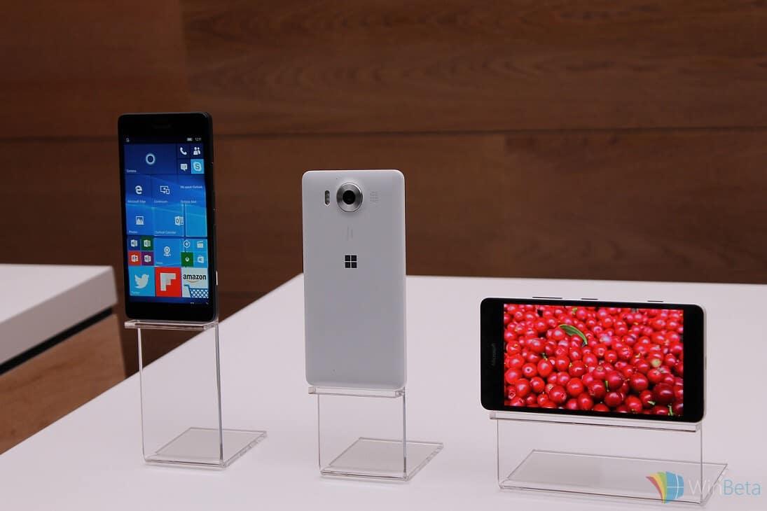 Lumia950s