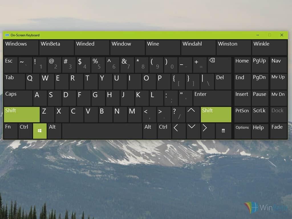 how to flip windows 10 desktop keyboard short cut