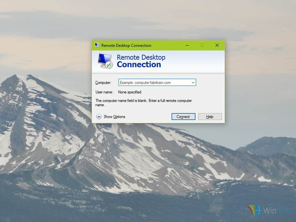 RemoteDesktopConnection