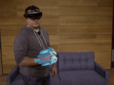 Mixed reality gaming with hololens in project xray - onmsft. Com - october 6, 2015