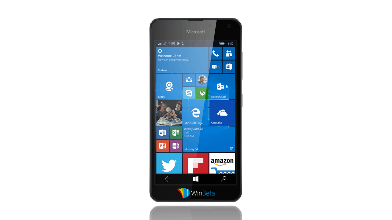 "lumia650render Leaked render of the Lumia ""Saana"" points towards 650 branding"