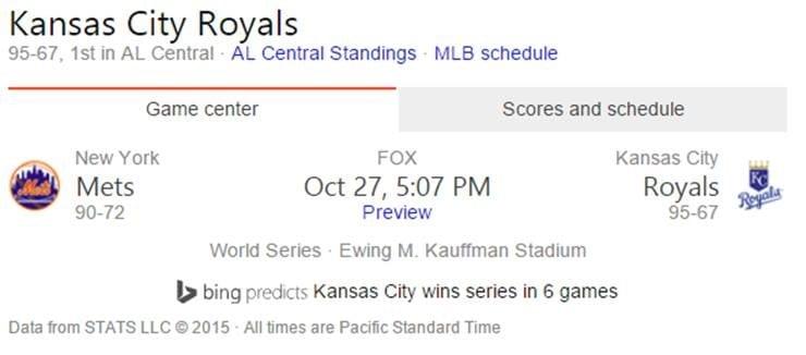 Way to go, Royals!