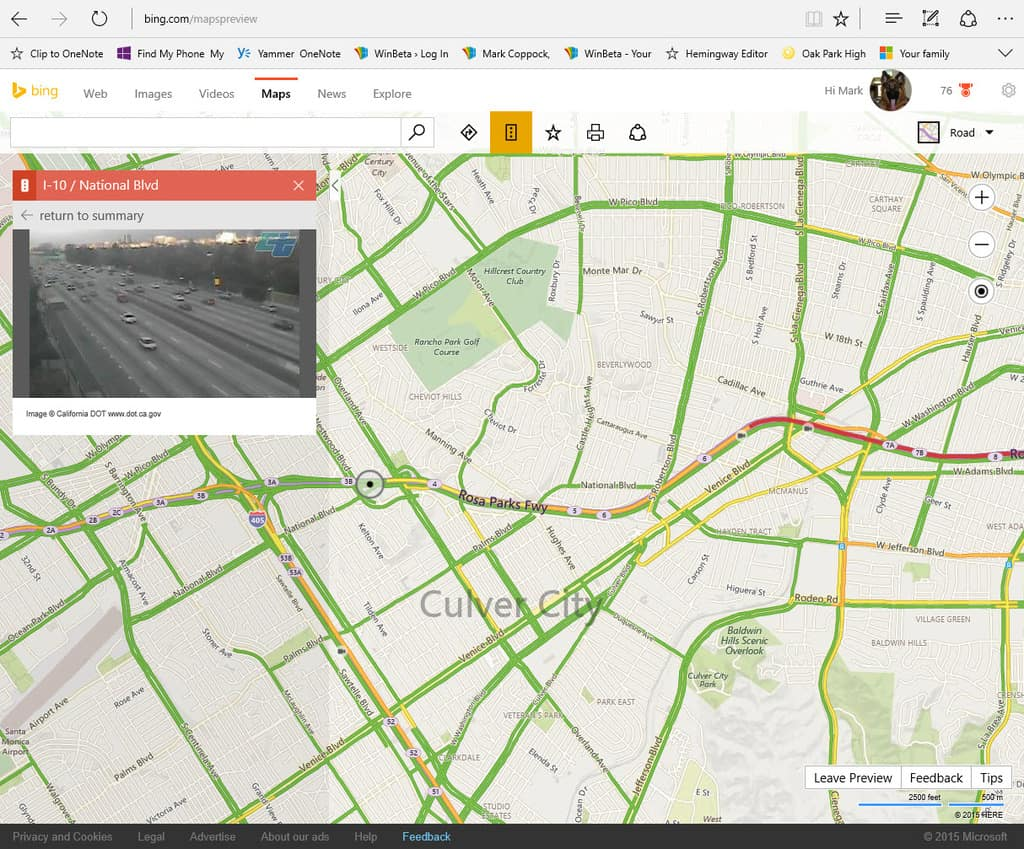 Bing Maps Now Lets You Peer Into 35,000 Traffic Cameras