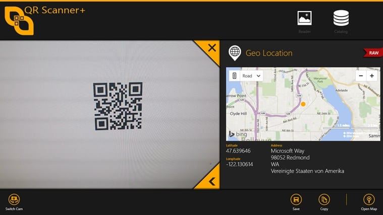 Scan QR codes and do stuff with them. 'nuff said.