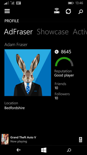Monitor your Xbox One profile right on your Windows phone!