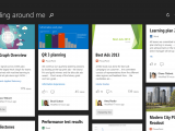 Microsoft delve lands on ios and android - onmsft. Com - november 19, 2015