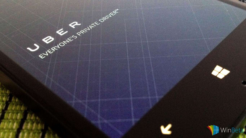 Uber on Windows Phone