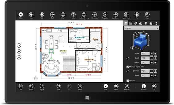 Live Interior 3D Version 2 Is A Windows 10 App That Can Improve