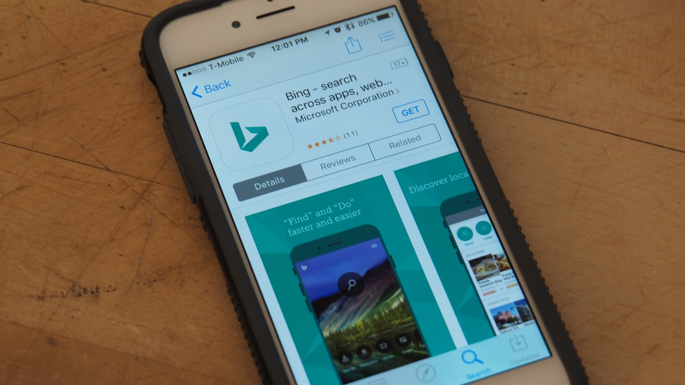 Bing for iPhone App