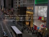 Microsoft Store carolers send message of peace and joy to Apple Store staff OnMSFT.com December 1, 2015