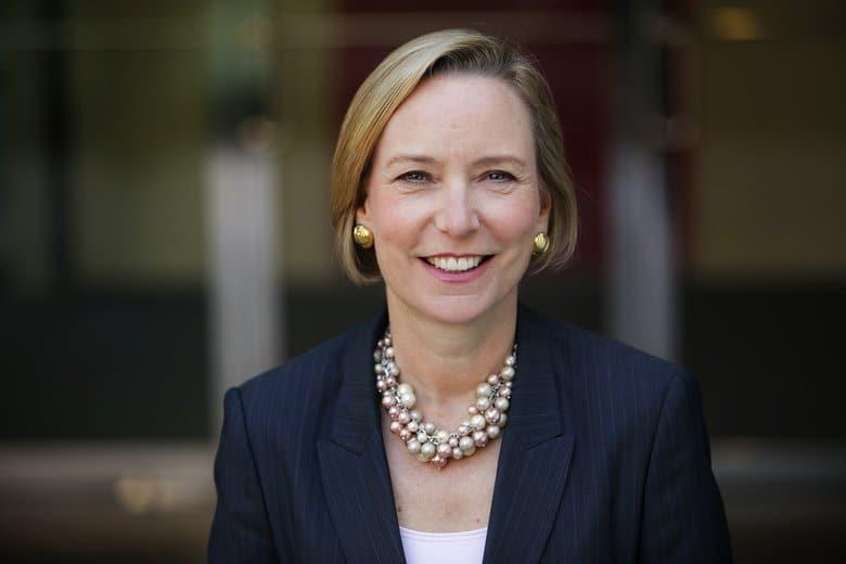 Sandra Peterson, group worldwide chairman of Johnson & Johnson.