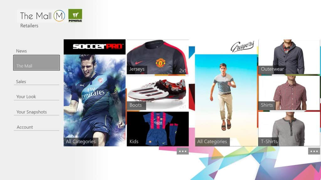 The Mall Xbox One app
