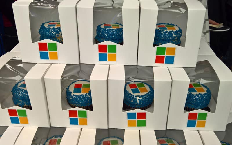 Windows cupcakes