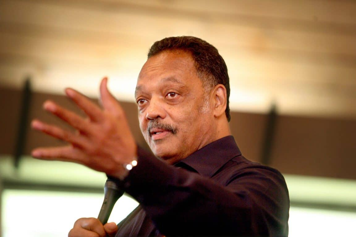 reverend jesse jackson issues a call to action at