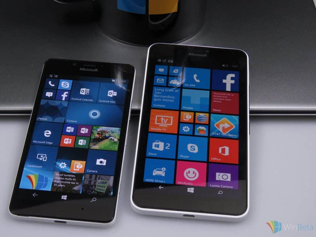 lumia950with640XL