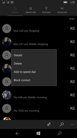Phone app update on Windows 10 Mobile adds 'Call Duration' feature OnMSFT.com December 7, 2015