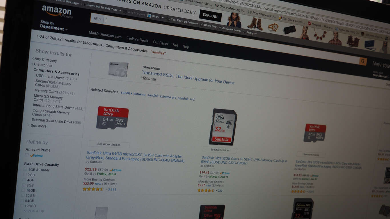 Amazon SanDisk Deal Featured