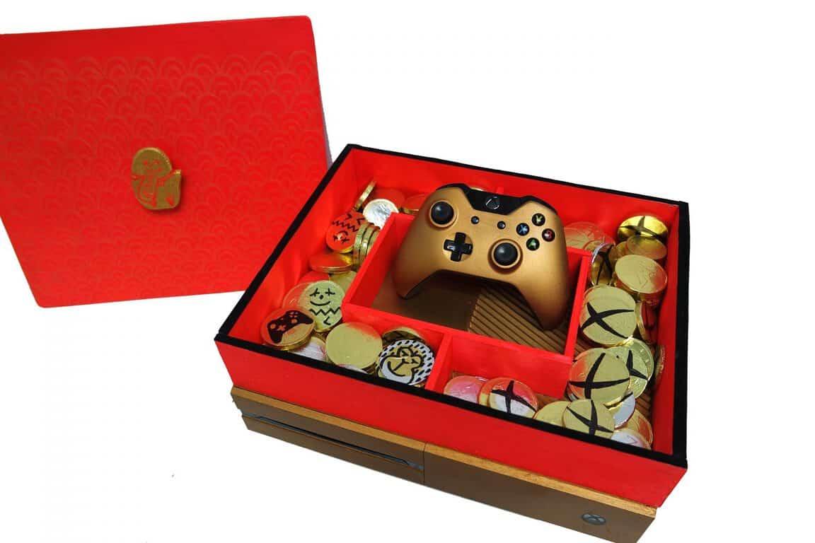 """Candy-box One"" custom Xbox One console"