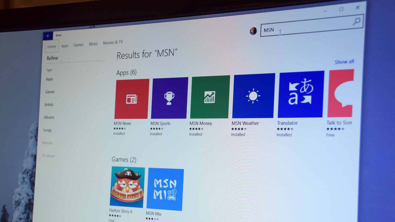 MSN Apps