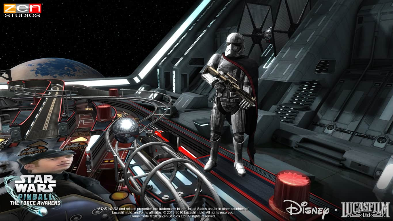 Star Wars Pinball: Might of the First Order on Xbox 360, Xbox One, and Windows 10