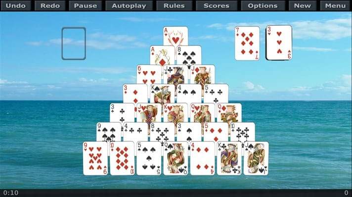 Solitaire 3D Windows 10 App
