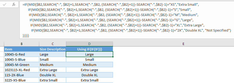 how to show the function of the line excel