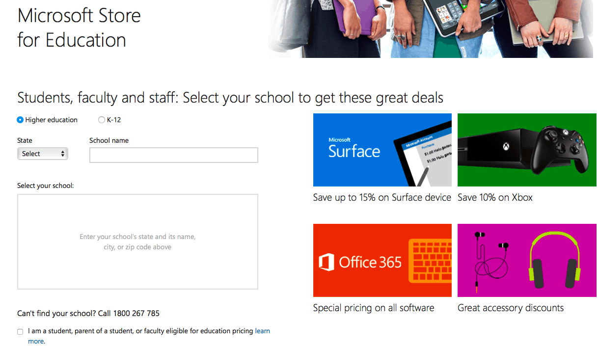Australian microsoft store discounts