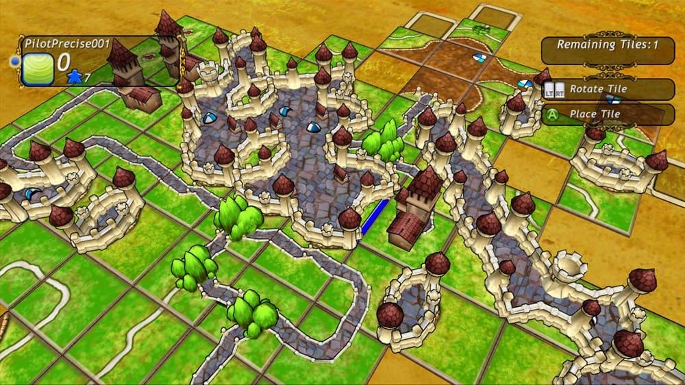 Carcassonne screenshot.