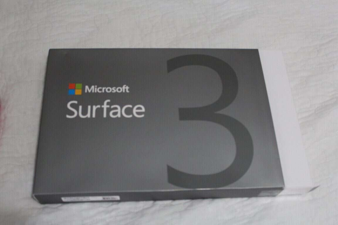 Surface 3 box