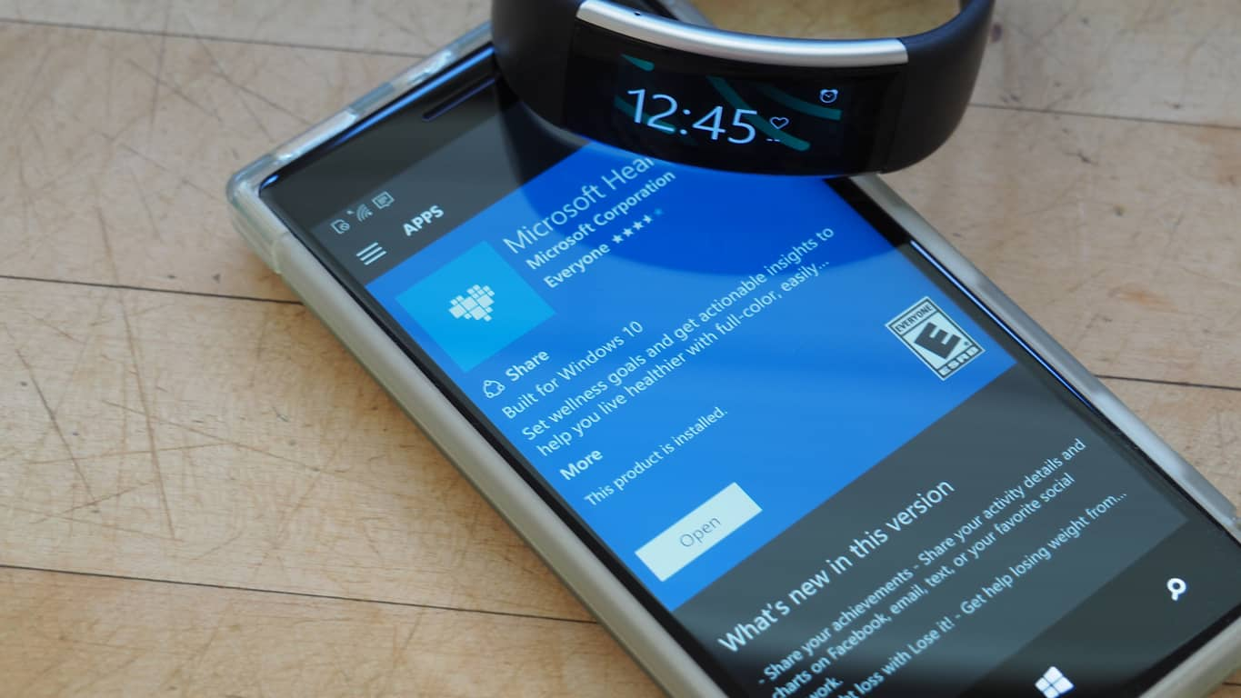 Microsoft Health Band 2 Updates Featured