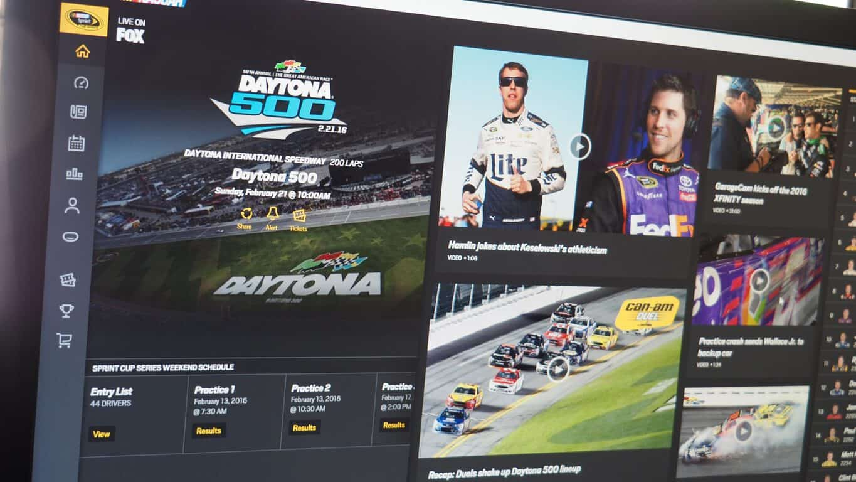 NASCAR Windows 10 App Featured
