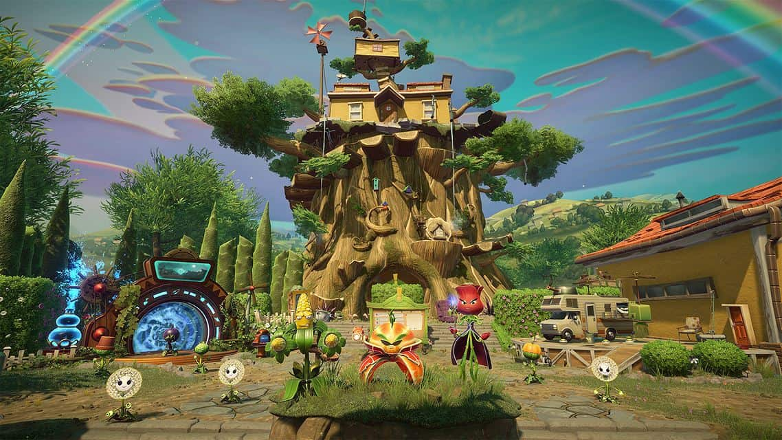 Plants Vs Zombies Garden Warfare 2 Now Available On The Xbox One On Msft