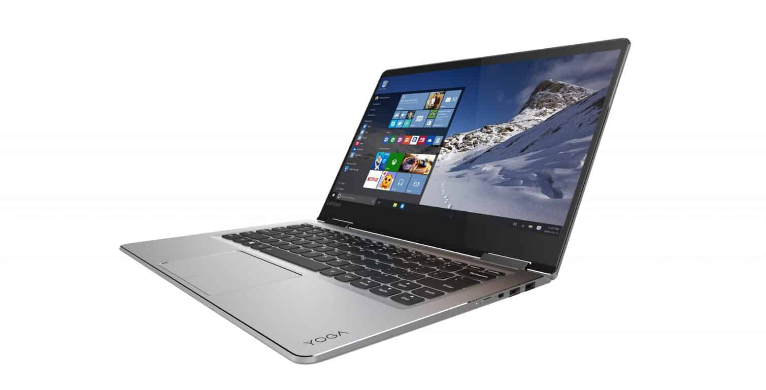 YOGA 710 (14-inch) in silver_laptop mode