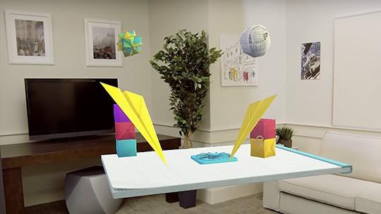 HoloLens ball demo