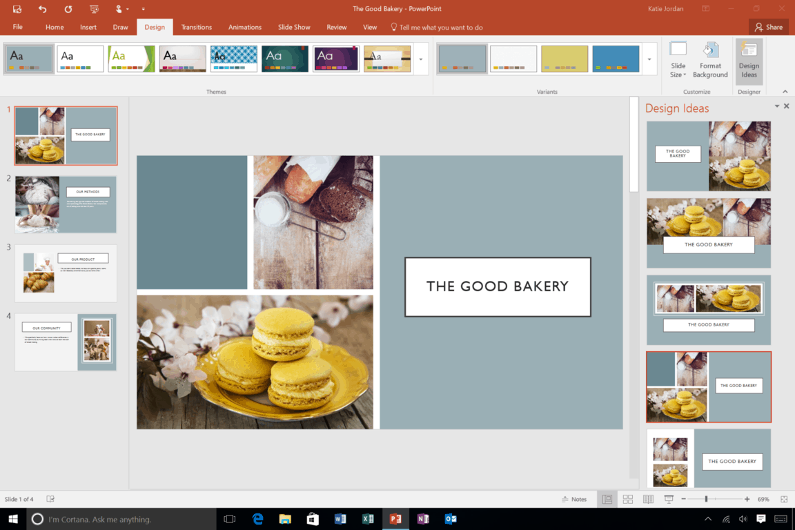 You can now insert more than one image to represent your big idea visually.