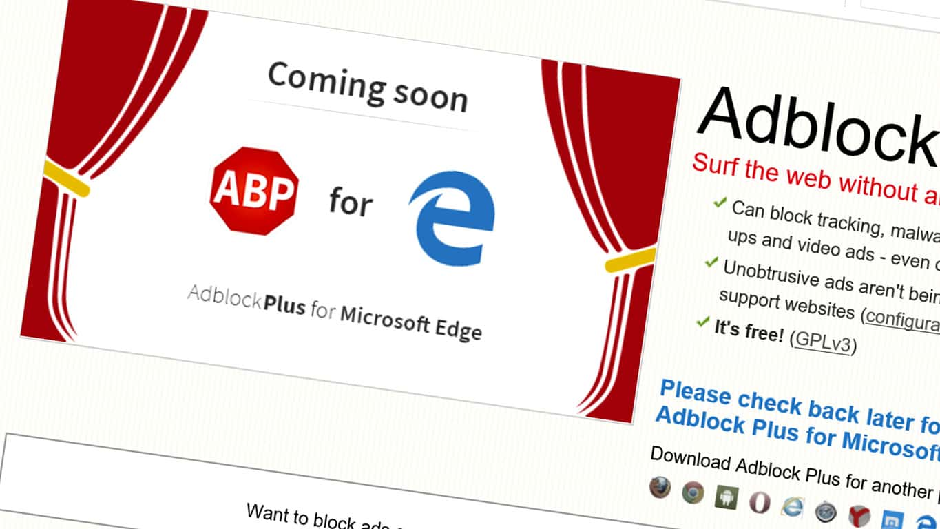 Adblock Edge Extension