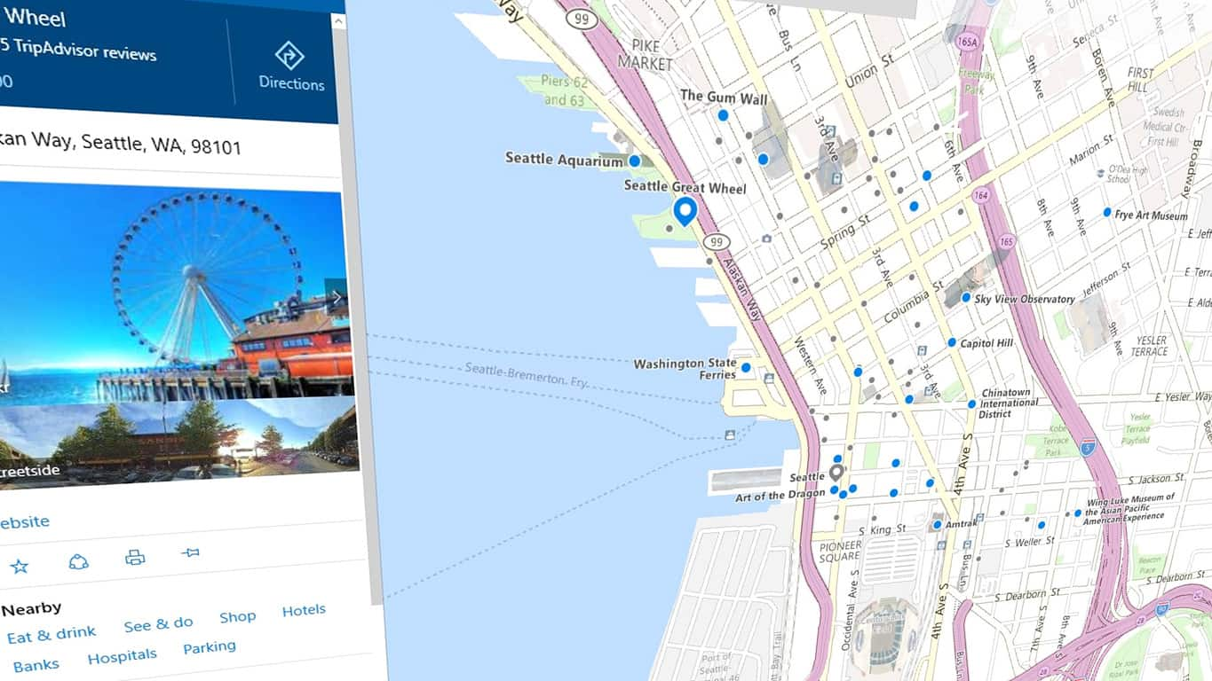 Microsoft details the updated Maps app in Windows 10 Redstone