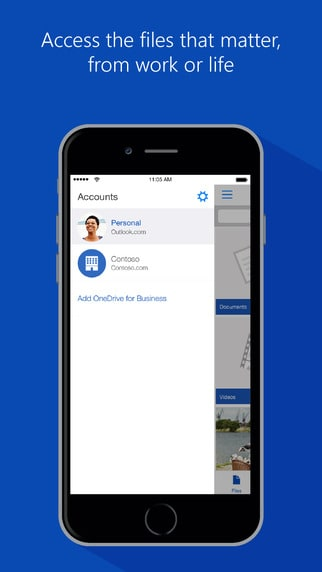 OneDrive for iOS update improves VoiceOver support, ups the performance, supports sending multiple files OnMSFT.com March 24, 2016