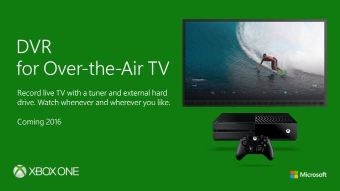 Xbox One TV DVR