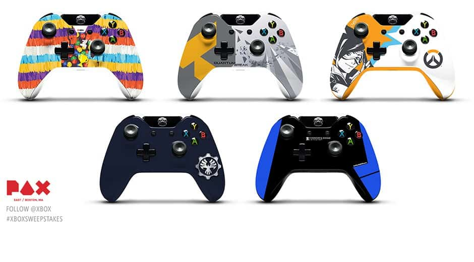 PAX East 2016 Xbox One Controllers