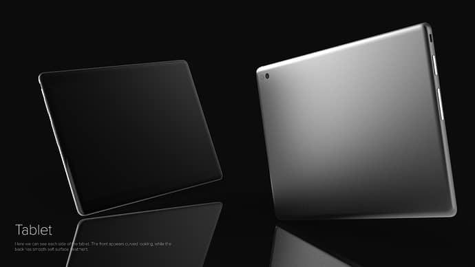 Pyramid Flipper Tablet Concept