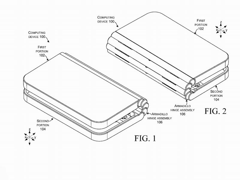 Microsoft Patents A Surface Book Like Multi Pivot