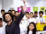 Microsoft partners with Real Madrid's Marcelo Vieira to help children with tech