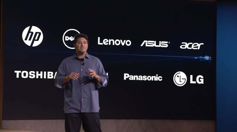 Windows 10 devices company partners